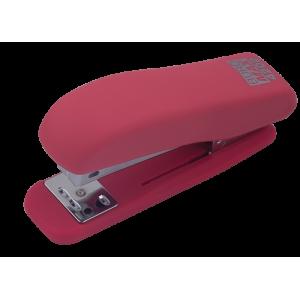 Степлер Buromax RUBBER TOUCH BM.4202, рожевий