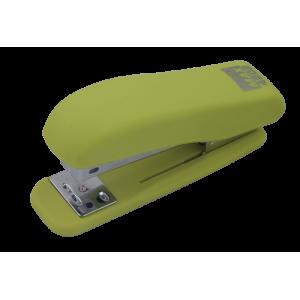 Степлер Buromax RUBBER TOUCH BM.4202, зелений
