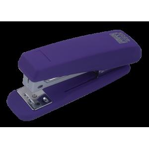 Степлер Buromax RUBBER TOUCH BM.4205, фіолетовий