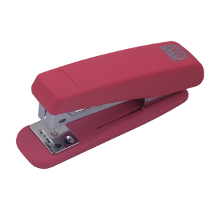 Степлер Buromax RUBBER TOUCH BM.4205, рожевий
