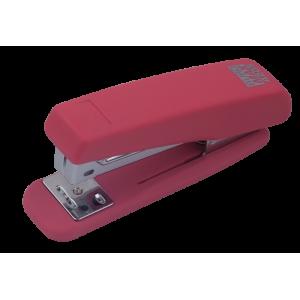 Степлер Buromax RUBBER TOUCH BM.4205, розовый