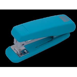 Степлер Buromax RUBBER TOUCH BM.4205, голубой