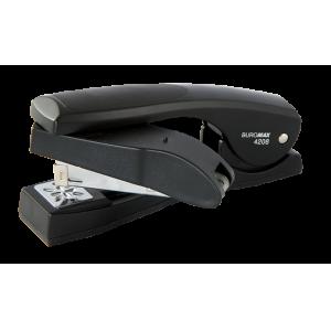 Степлер Buromax BM.4208 з поворотним важелем, чорний