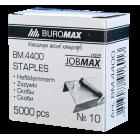 Скобы для степлера Buromax №10 (5000 шт)