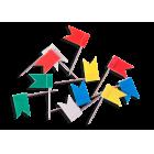 Кнопки-флажки цветные Buromax 30 шт. (BM.5152)