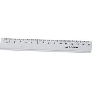 Лінійка алюмінієва Buromax 15см (BM.5800-15)