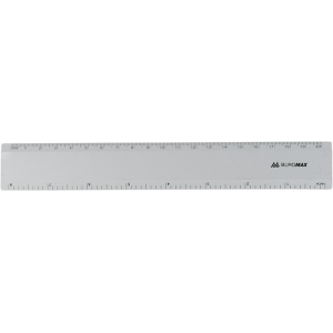 Лінійка алюмінієва Buromax 20см (BM.5801-20)