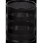 Подставка для ручек 85х85х100мм, черная