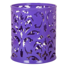 "Подставка для ручек ""Barocco"" 83х100мм, фиолетовая"