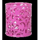 """Подставка для ручек """"Barocco"""" 83х100мм, розовая"""