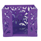 Бокс для паперу Barocco 80x100х100мм, фіолетовий