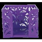 Бокс для бумаги Barocco 80x100х100мм, фиолетовый