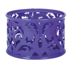 """Підставка для скріпок """"Barocco"""" 85х53мм, фіолетова"""