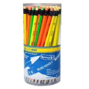 Олівець графітовий з гумкою BM.8520 BuroMax