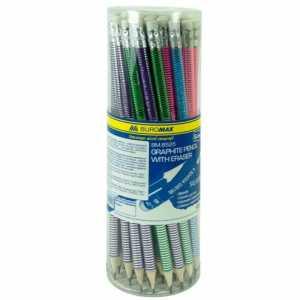 Олівець графітовий з гумкою BM.8525 Buromax
