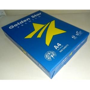 Бумага офисная Golden Star А4 75г/м 500л.