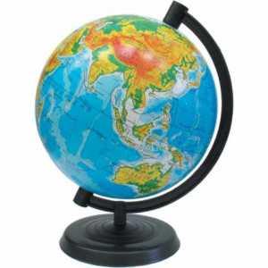 Глобус 260мм физический