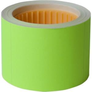 Ценник 50 * 40мм, (100шт, 4м), прямоугольный, внешняя намотка, желтый
