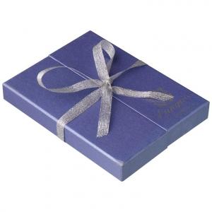 Набор Langres Aubergine: ручка + брелок, фиолетовый