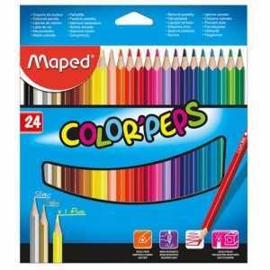 Карандаши цветные COLOR PEPS Classic, 24 цветов