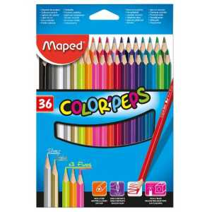 Карандаши цветные COLOR PEPS Classic, 36 цветов