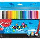 Фломастеры COLOR PEPS Ocean, 18 цветов