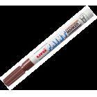 Маркер перманентный uni Paint marker коричневый