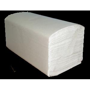 Полотенца бумажные , 1 слой 180шт. серые