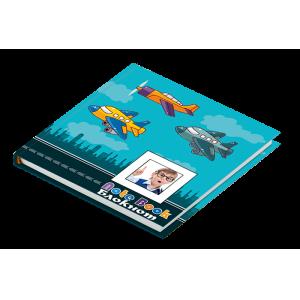 Блокнот детский Airplane 80 листов