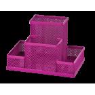 Прибор настольный 150x100x100мм, розовый