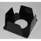 Бокс для бумаги  90х90х45мм черный