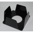 Бокс для паперу 90х90х45мм чорний