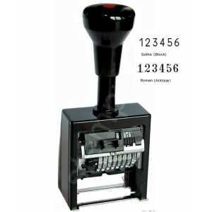 Нумератор REINER B6K 8-ти разрядный, шрифт 4,5мм