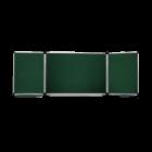 Дошка настінна для крейди 300х100см трисекційна ABC