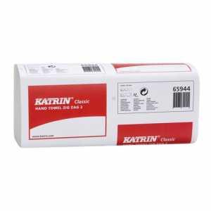 Полотенца бумажные Katrin Classic, 2 слоя 150шт.