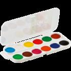 Краски акварельные 12 цветов ZiBi