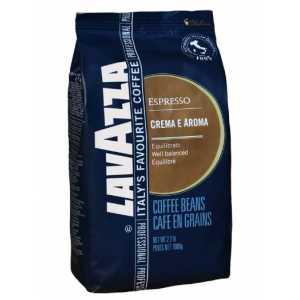 Кофе Lavazza Espresso CREMA E AROMA в зернах 1000 г