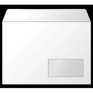 Конверт формат С5 вікно (162х229мм) силікон