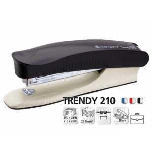 Степлер Kangaro Trendy -210, ассорти